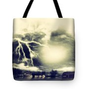 Storm And Flood Tote Bag