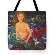 Storm And Peace Tote Bag