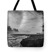 Storm Approaching Hook Head Tote Bag