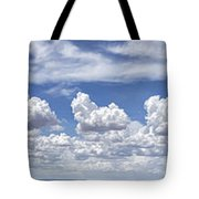 Storm Approaching Panorama Tote Bag