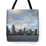 Storm Approaching San Diego  Tote Bag