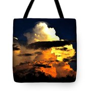 Storm At Dusk Tote Bag by David Lee Thompson