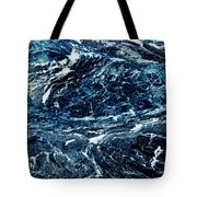 Storm At Sea Tote Bag by Stephanie Grant