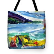 Storm - Cherry Point Beach Tote Bag