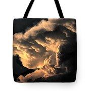 Storm Cloud Menacing Tote Bag