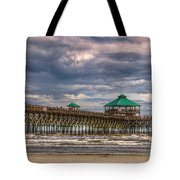 Storm Clouds Approaching - Hdr Tote Bag