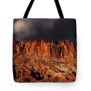 Storm Clouds Capitol Reef National Park Utah Tote Bag