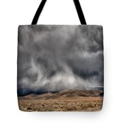 Storm Clouds Tote Bag by Cat Connor