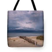 Storm Clouds On The Outer Banks Tote Bag