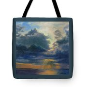 Storm Clouds Over P-town Tote Bag