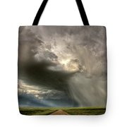 Storm Clouds Prairie Sky Saskatchewan Tote Bag