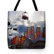 Storm Clouds Tote Bag by Skip Willits