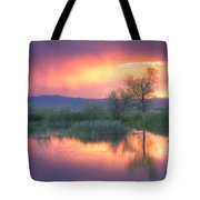 Storm Color Tote Bag