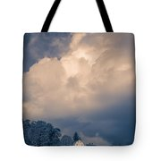 Storm Coming To The Old Farm Tote Bag