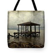 Storm In The Distance Tote Bag