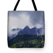 Storm In The San Juan Mountains Tote Bag