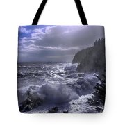 Storm Lifting At Gulliver's Hole Tote Bag