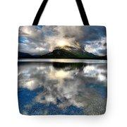 Storm Mountain Tote Bag