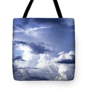 Storm Of Namibia Tote Bag