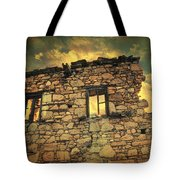 Storm Of Time Tote Bag