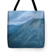 Storm Off Trail Ridge Tote Bag