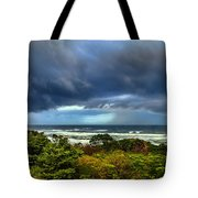Storm On Oregon Coast Tote Bag