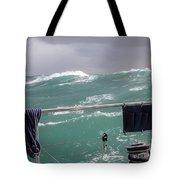Storm On Tasman Sea Tote Bag