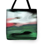 Storm On The American Landscape Tote Bag