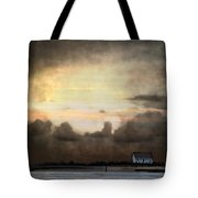 Storm On The Water Tote Bag