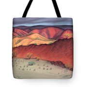Storm Outback Australia Tote Bag