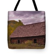 Storm Over Ashcroft Tote Bag