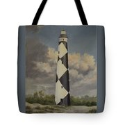 Storm Over Cape Fear Tote Bag