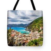 Storm Over Cinque Terre Tote Bag
