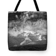 Storm Over Como Tote Bag