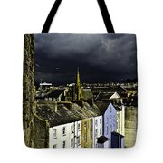 Storm Over Conwy Tote Bag