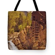 Storm Over Crystal Mill Tote Bag