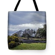 Storm Over Dunollie Tote Bag