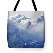 Storm Over Fitz Roy 2 Tote Bag