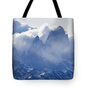 Storm Over Fitz Roy 3 Tote Bag