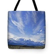 Storm Over Fitz Roy 4 Tote Bag