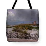 Storm Over Gulf Shores  Tote Bag