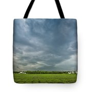 Storm Over Nursery Tote Bag
