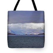 Storm Over Oban Bay Tote Bag