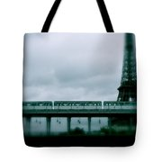 Storm Over Paris Tote Bag