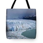 Storm Over Perito Moreno Tote Bag