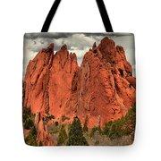 Storm Over Red Rocks Tote Bag