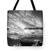 Storm Over Sedona Tote Bag by Dave Bowman