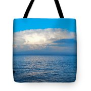 Storm Over Whitefish Bay Tote Bag