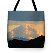 Storm Passing By Tote Bag