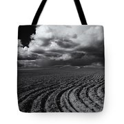 Storm Path Tote Bag by Mike  Dawson
